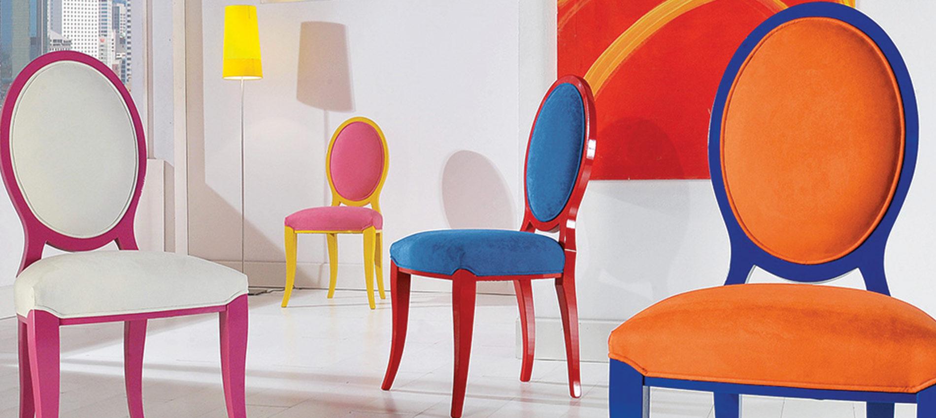 Sobre a Italy Tintas - cadeiras coloridas